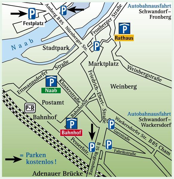 Parkplatz-Schwandorf